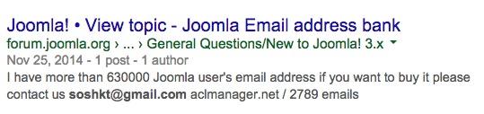 Joomlart Hackers hacked Joomla too